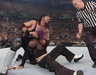 WWE / WWF - King of the Ring 2001 - X-Pac challenged Jeff Hardy for the Light Heavyweight Championship