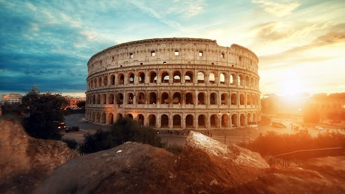 Imagem Coliseu Roma Antiga