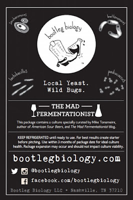 Bootleg Biology Mad Fermentationist Saison Blend logo.