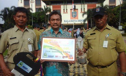 Keren...Pasar Sukatani Sabet Juara Kedua se-Jawa Barat