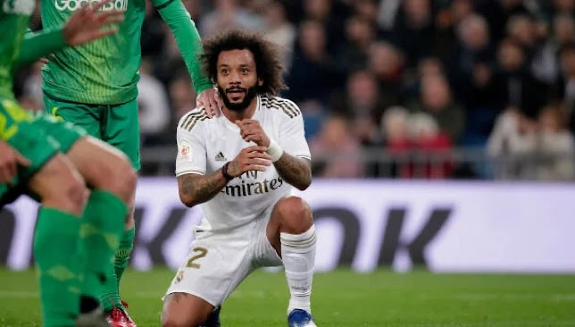 Marcelo is the 19th player to score for Real Madrid this season