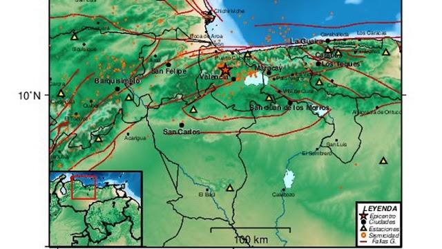 Ultima Hora: Reportan temblor en Valencia