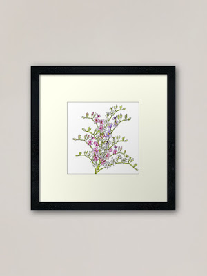Freesia Wall Art