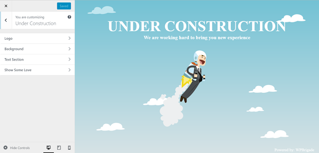 Under Construction Wordpress Plugins