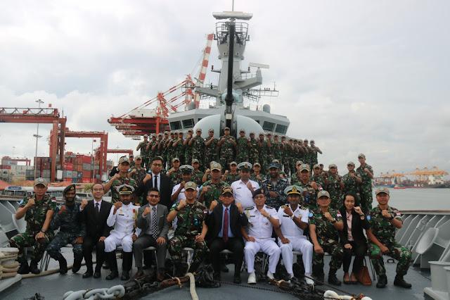 Dubes LBBP RI Untuk Sri Lanka Sambut Prajurit KRI Usman Harun-359
