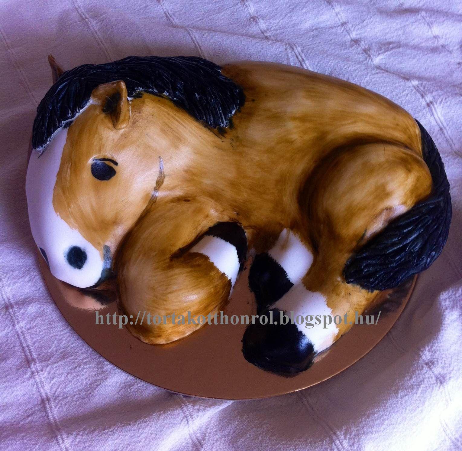 ló torta képek Torták otthonról ló torta képek