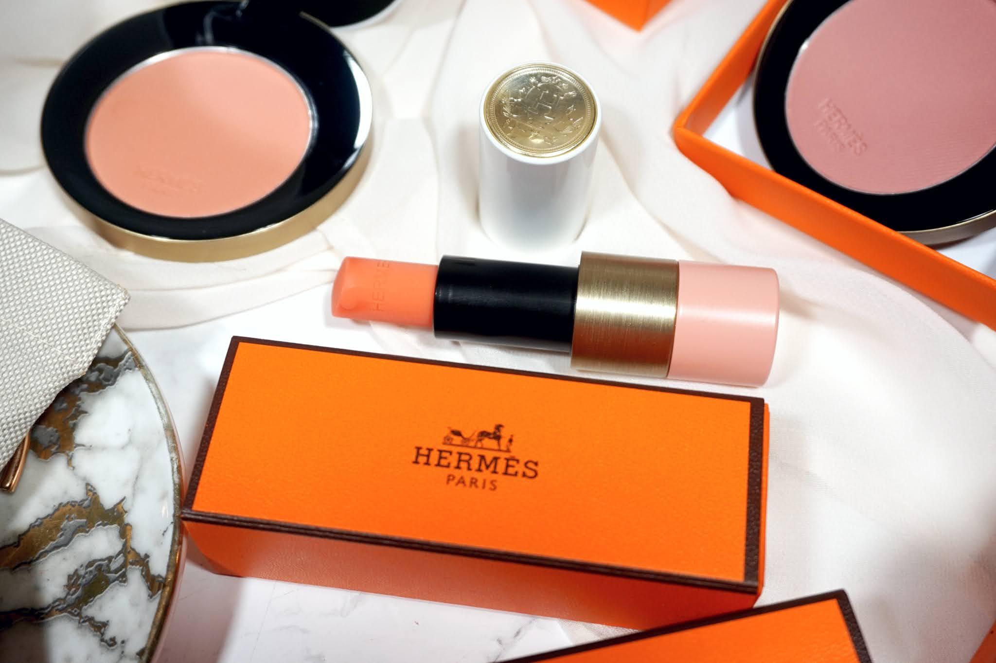 Hermès Rose Hermès - Tinted Lip Enhancer Balm Review and Swatches