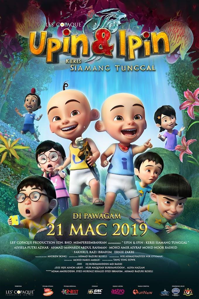 Review Filem Upin & Ipin : Keris Siamang Tunggal