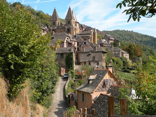 フランスの最も美しい村のひとつ コンク
