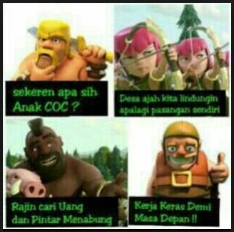 Meme Lucu Gokil Clash Of Clans