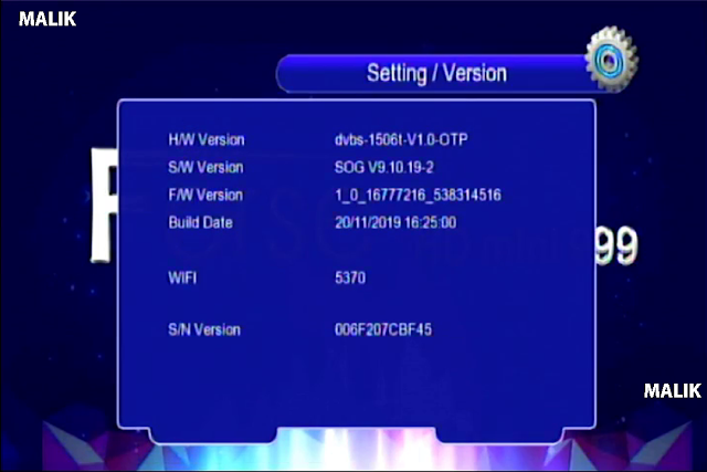 Forse HD Mini 999 Receiver Software New Update By USB