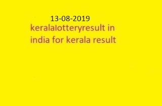nirmal lottery sthree sakthi lottery result 2019-08-13