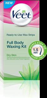 Freebie :Get Veet Full Body Waxing Kit _frickspanel