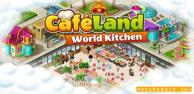 لعبة Cafeland - World Kitchen v2.1.11 مهكرة كاملة للأندرويد (اخر اصدار) logo