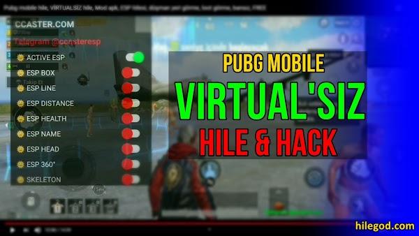 Pubg Mobile Yeni Sezon Virtualsiz Hile & Hack 2021 Güncel APK