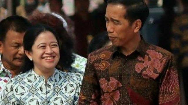 Gegara Cipta Kerja, Jokowi dan Puan Maharani Diberi Gelar Penjahat Konstitusi