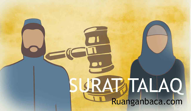 Contoh Surat Talaq Siap Download