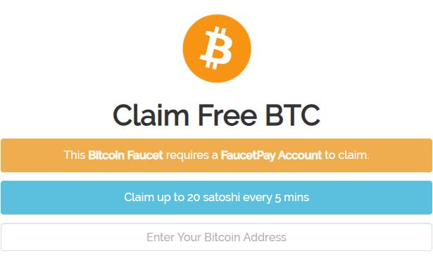 faucet de bitcoin 2021