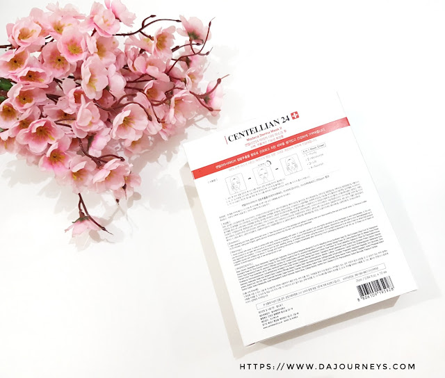 [Review] Centellian 24 Madeca Derma Mask