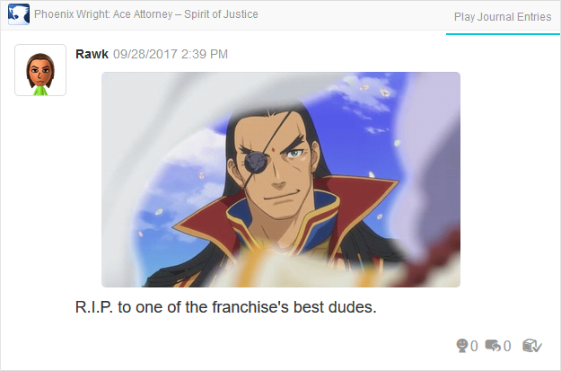 Phoenix Wright Ace Attorney Spirit of Justice Dhurke ending
