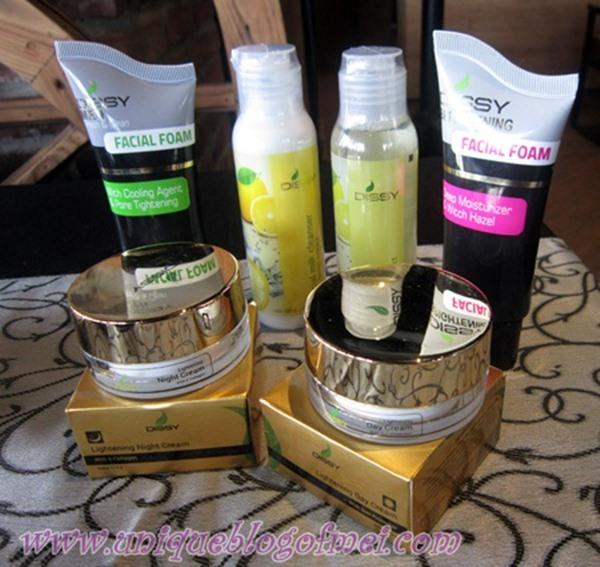 Rangkaian skin Care dari Dissy