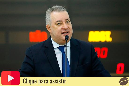 Vereador de Maringá Sidnei Telles (Avante). Café com Jornalista