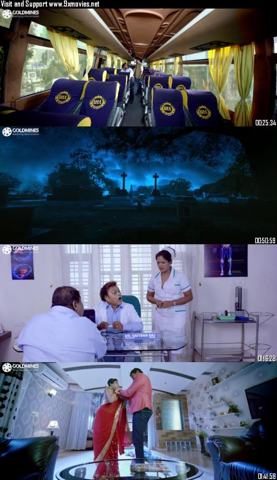 Bhagmati Returns 2021 Hindi Dubbed 720p HDRip 950mb