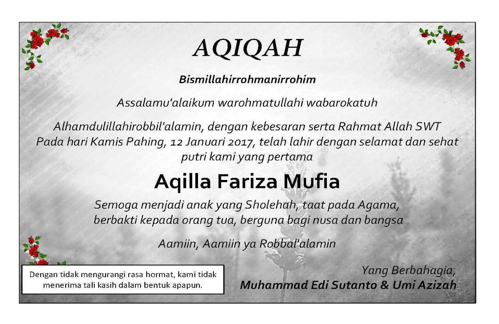 Unduh 83 Background Kosong Undangan Aqiqah Hd Gratis Download