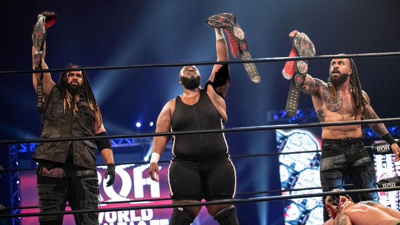 Shane Taylor Promotions vence os títulos de trios da ROH