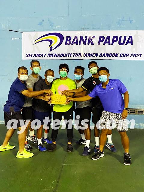 Gugun/Arynkgo Juara Gandok Cup Yogyakarta
