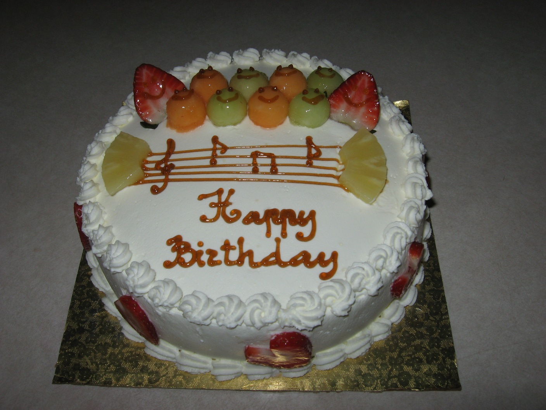 Yummy Cakes: Birthday Song Cake