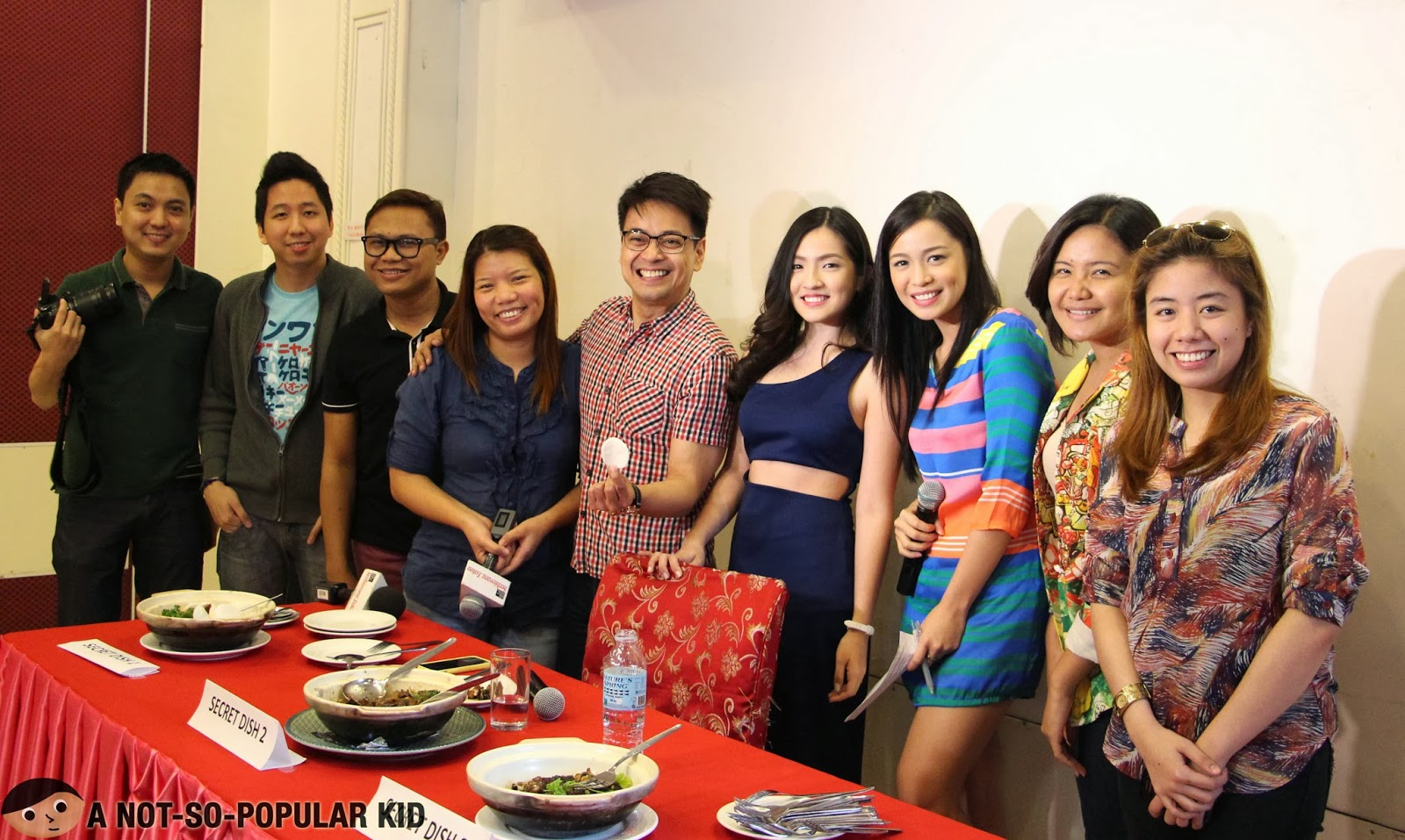 The bloggers, writers and reporters who joined the Exotic Food Tasting Event with Joyce Ching