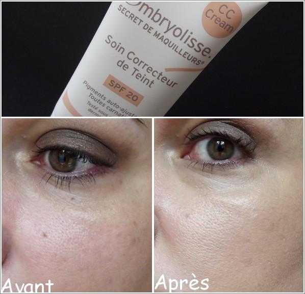 CC Cream Soin Correcteur de Teint SPF 20 ,Embryolisse, CC cream