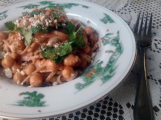 Thai Chickpea Pasta 8