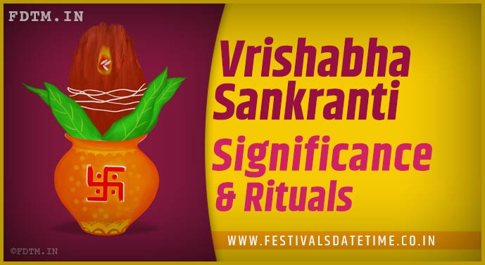 Vrishabha Sankranti: Know the Puja Vidhi and Importance of Vrishabha Sankranti