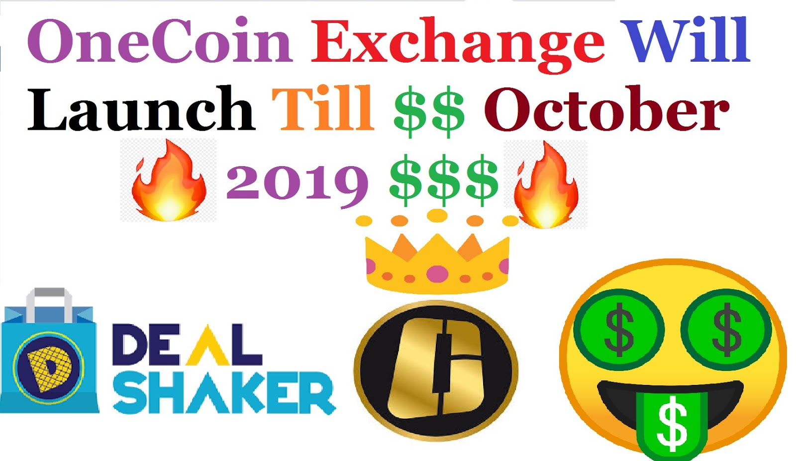 OneCoin Exchange Will Launch Till $$ October 2019