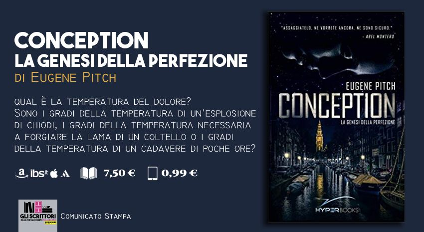 Conception, di Eugene Pitch - Comunicato stampa, libri