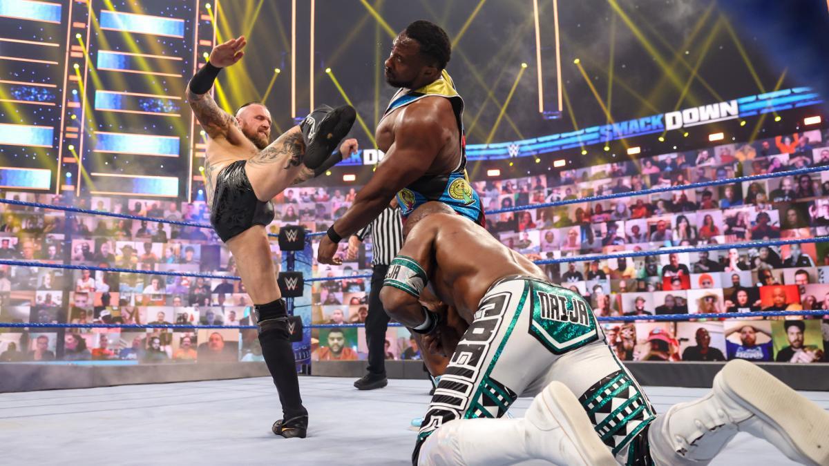 Big E comenta sobre sua curta feud com Aleister Black na WWE
