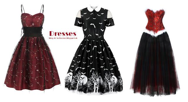 Gothic Vampire Halloween Costume Inspiration