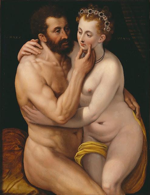Frans Floris: Marte e Venere