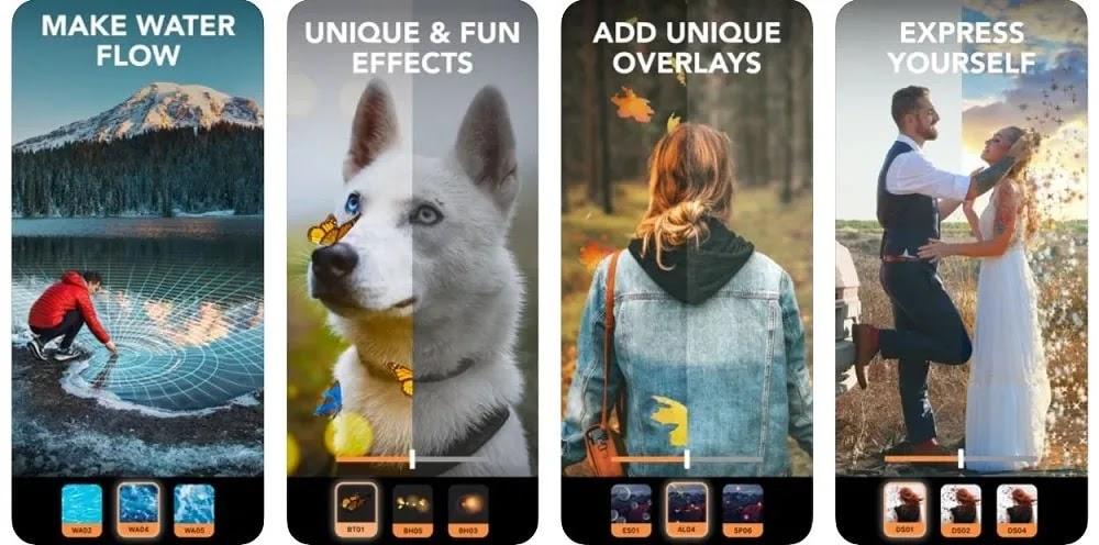 تطبيقات Motionleap Instagram Stories