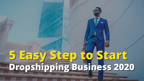 5 Easy Step to Start a Dropshipping Business 2020 - Tooprofit.com