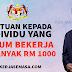 Bantuan RM 1,000 Kepada Individu Belum Bekerja