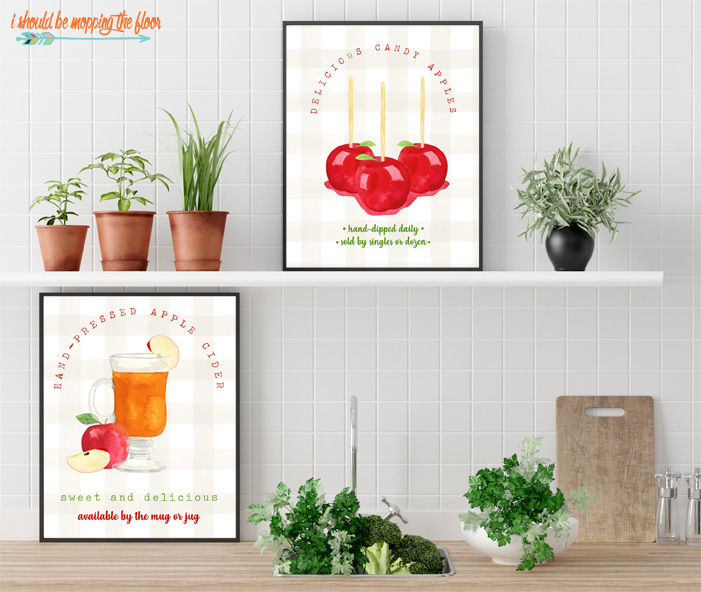Fall Kitchen Printables