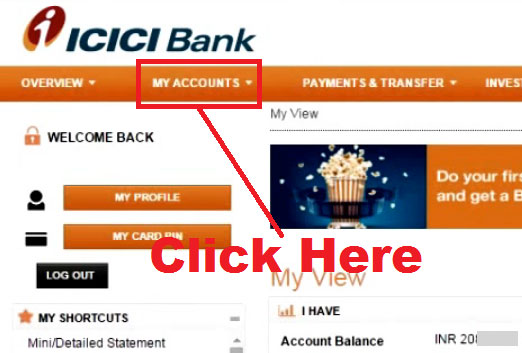 how to open fixed deposit in icici online