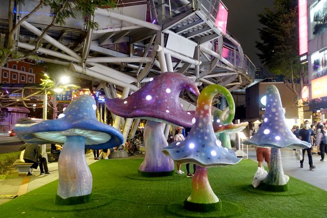 2020新北市歡樂耶誕城~板橋景點