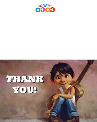 free coco thank you cards