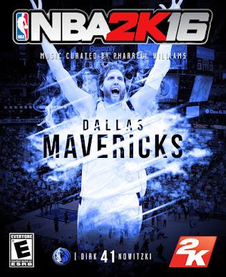 NBA 2K16 Custom Covers - Dallas Mavericks