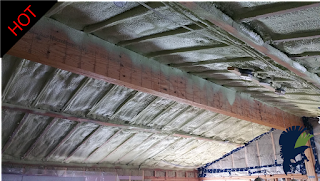 25 Foot Beam Vaulted Ceiling Convert