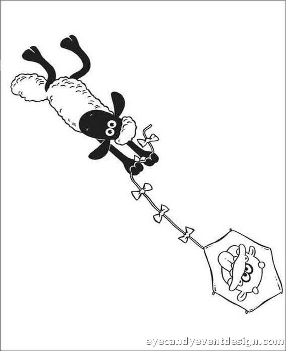 Schaf Ausmalbild